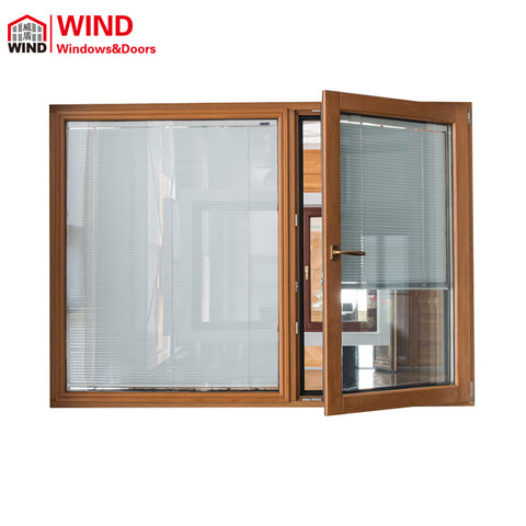 Vertical jalousie adjustable louvre glass shutter windows louver on China WDMA