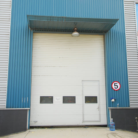 Vertical sliding door lifting industrial sectional doors on China WDMA on China WDMA