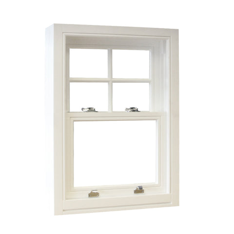 Vertical sliding double pane glazed soundproof double hung aluminum windows aluminum up down sliding sash window on China WDMA