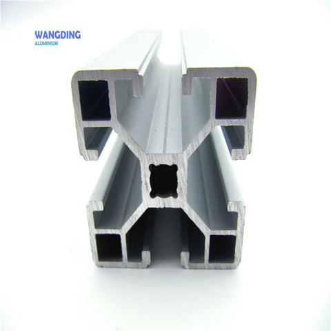 Very cheap T slot extrusion frames aluminum profiles for sliding doors on China WDMA