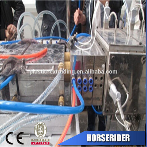 WPC pvc ceiling profile extruder machine price/wpc upvc plastic door profile frame making production line on China WDMA