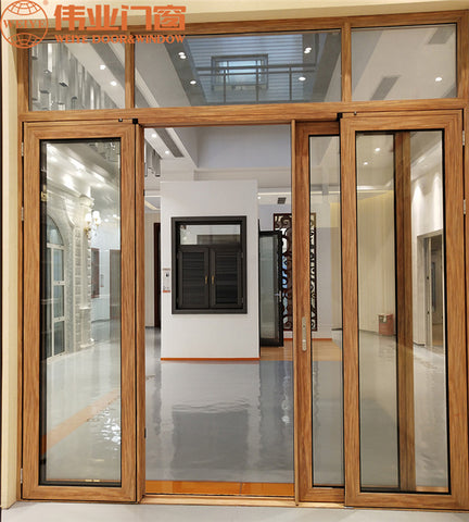 WYT 110series PD Sliding Casement Door Max Open Size Simple Aluminum Alloy Grain Door Foshan Factory Offer on China WDMA on China WDMA