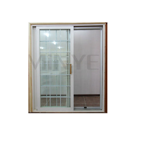 Waterproof and fashion design UPVC sliding door on China WDMA