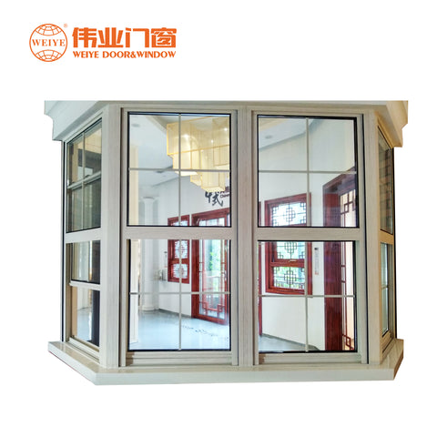 Western Common 83mm Aluminum Glass Double Hung Window Vertical Lifting Indoor on China WDMA