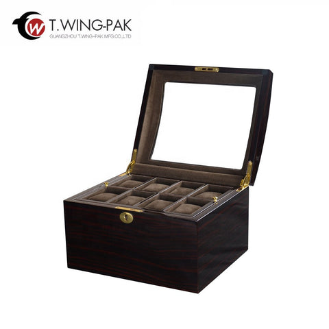 Where Can I Buy Watch Boxes Wooden Watch Case Acrylic Window On Top on China WDMA