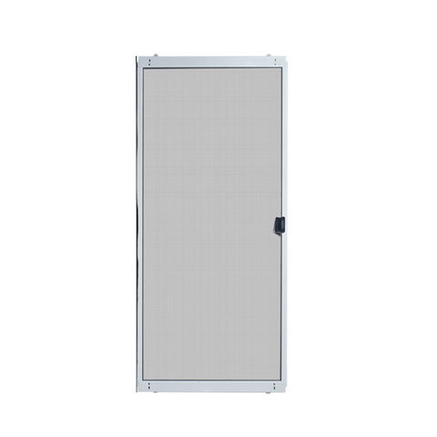 White Steel Frame Sliding Screen Door Home Decor Screen Patio Door Sliding insect Screen Door on China WDMA