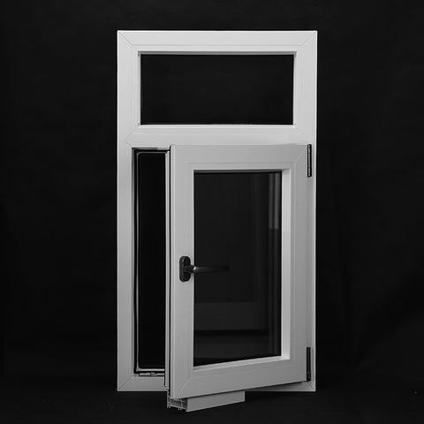 White Windows Double Hung Window UPVC Frame Window Design on China WDMA