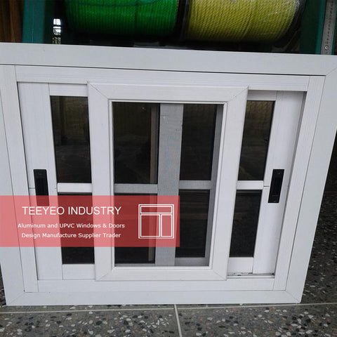 White custom size sliding windows cost single glazed with burglar proof and mosquito net on China WDMA