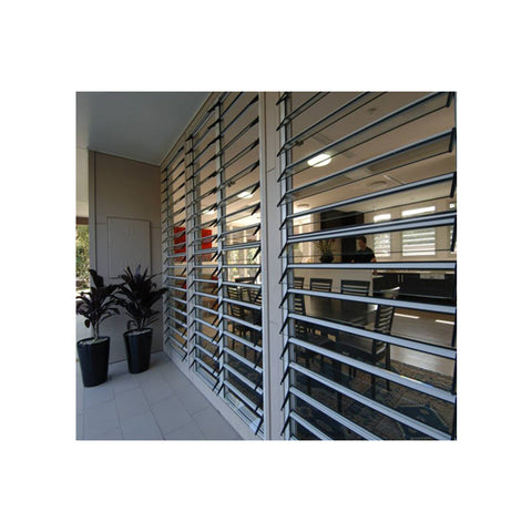 Wholesale 12mm Aluminum Tempered Glass Windows And Shutters on China WDMA