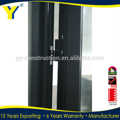 Wholesale Cheap Exterior AS2047 Double Glass Swing Casement French Aluminum Door on China WDMA