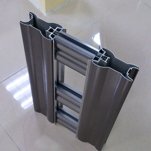 Wholesale Customized 6063 6061 Powder Coating Wooden Grain Brown Aluminium Window Frames on China WDMA