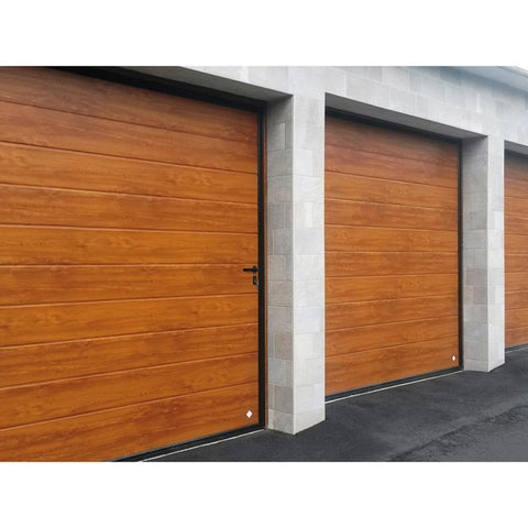 Wholesale Electric Upward sliding Garage door With small windows Made in China on China WDMA