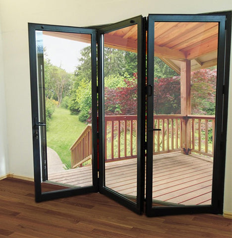 Wholesale Exterior Patio Screen Bifold Doors Glass on China WDMA
