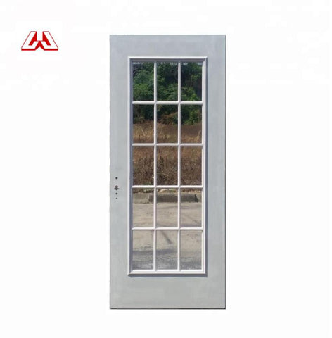 Wholesale Foshan Customized Cheap Exterior Swing Casement interior double French UPVC Door on China WDMA