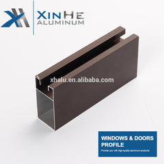 Wholesale Newest Style High Quality Decorative Product Extruded Powder Coating Best Effect Wide Alloy Aluminum Window Profile on China WDMA