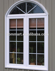 Wholesale Soundproof Customized Casement Window Pvc Upvc Windows with Grills on China WDMA
