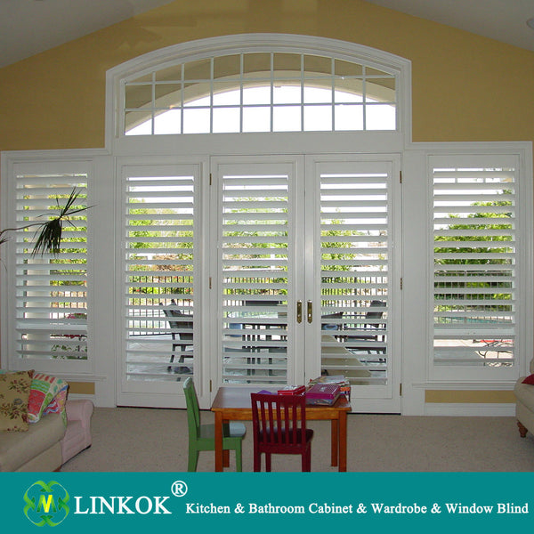 Wholesale half price china blinds factory easy installing inexpensive inside window blinds plantation shutters