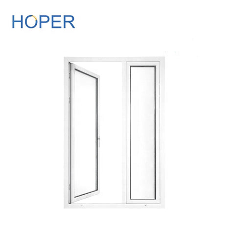 Wholesale low cost of french door in aluminum frame on China WDMA