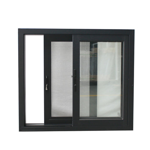 Wholesale price security roller design aluminum window and door sliding window burglae proof design for bathroom modern house on China WDMA