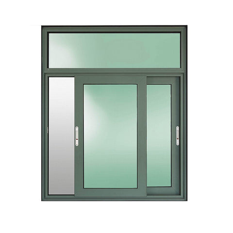 Wholesale price tracks system aluminum sliding windows design on China WDMA