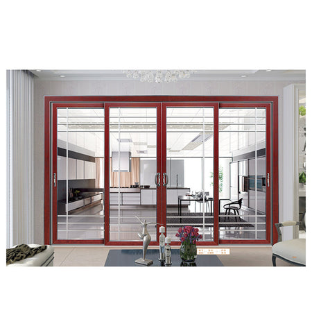 Wholesale room wood grain Aluminium lift and slide door aluminium lift & sliding doors on China WDMA