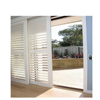 Wholesale shutters Poland patio door Security blinds shades shutters Aluminum shutters on China WDMA