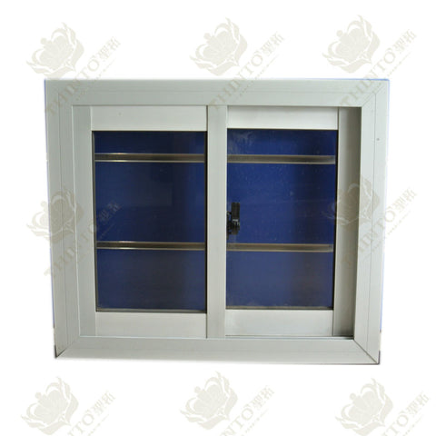 Wholesale white color aluminum small sliding windows on sale on China WDMA