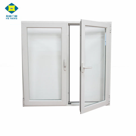 Wholesales Free Sample Small Single Pane Georgian Bar French Tempered Glass Vinyl American Casement Windows on China WDMA
