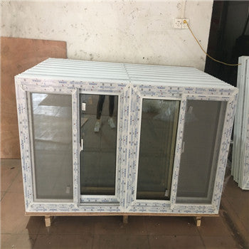 Wholesales PVC/uPVC sliding chinese window with mosquito net on China WDMA