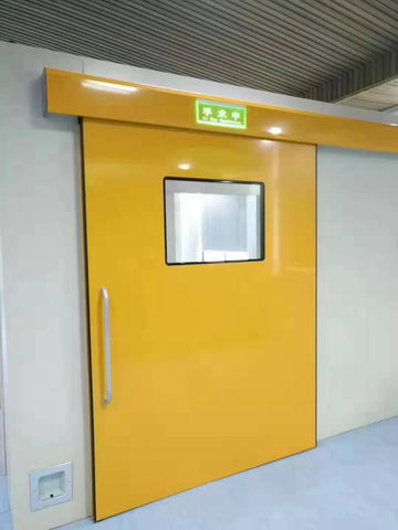 Wide Voltage Glass Automatic Hermetic Sliding Door Price for Hospital on China WDMA