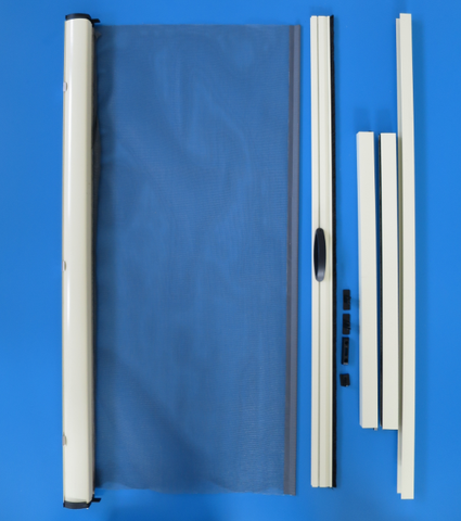 Wind resistant horizontal sliding screen door on China WDMA