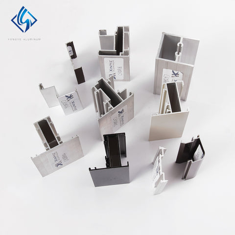 Windows White Aluminum Window Frame Sections Profiles Prices For Sliding Window Ethiopia Market on China WDMA