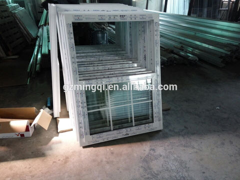 Windows of Single Hung and Double Hung window Vertical pvc window on China WDMA