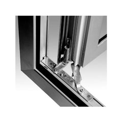 Windsor Aluminium material tilt and turn casement window 2 windows on China WDMA