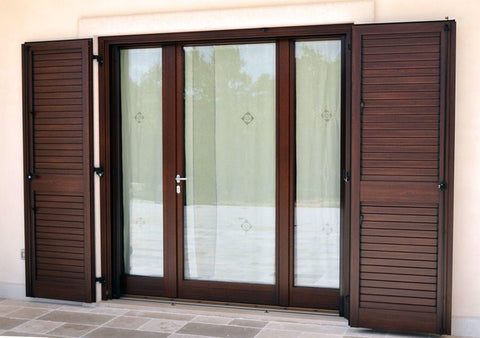 Wood door design aluminum profile sliding windows and door on China WDMA