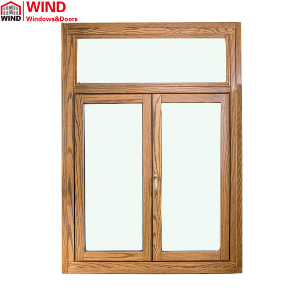 Wood double glazed best soundproof burglar proof window supplier on China WDMA