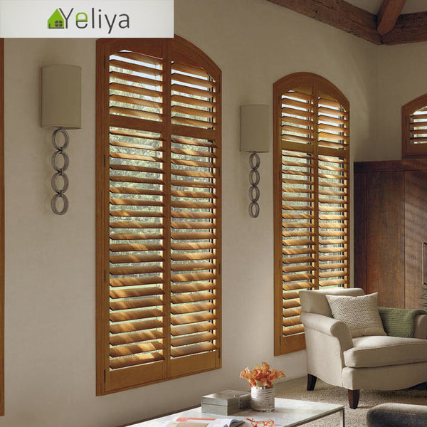 Wood louvered bifold doors plantation shutter on China WDMA