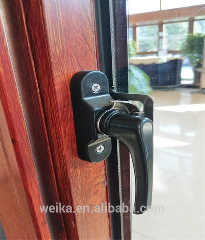 Wooden grain pvc/upvc windows and doors aluminum sliding windows and doors on China WDMA