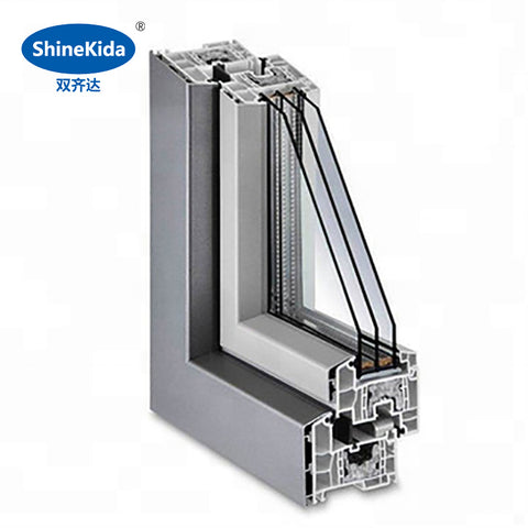 Woodgrain electrophoresis door frame wooden partition sliding in-swing french aluminum doors making companies on China WDMA