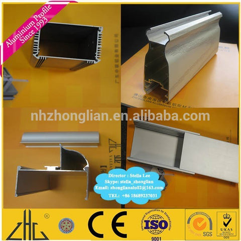Wow! 6063 6061 aluminium structural frame OEM , anodized brushed u channel window blinds tube frame / aluminum extrusion company on China WDMA