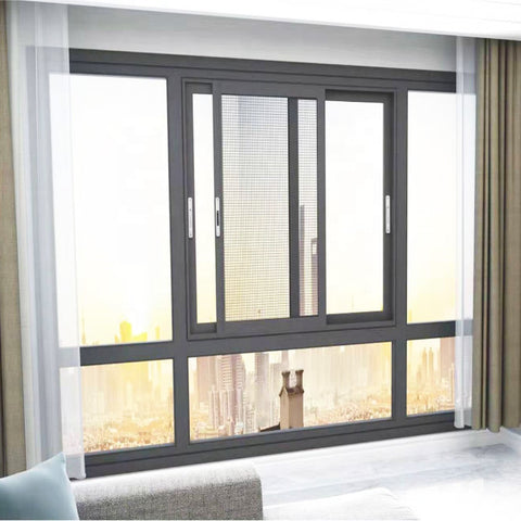 Wow China best price aluminum sliding window materials aluminium window frames on China WDMA
