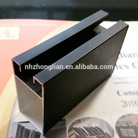 Wow!! aluminium profile to make doors windows factory exporter/industrial work table profile/anodizing aluminium frame with lock on China WDMA