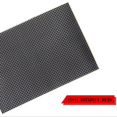 Xusen Factory supply 0.8mm 11x11 304 Stainless Security Mesh Screen for windows