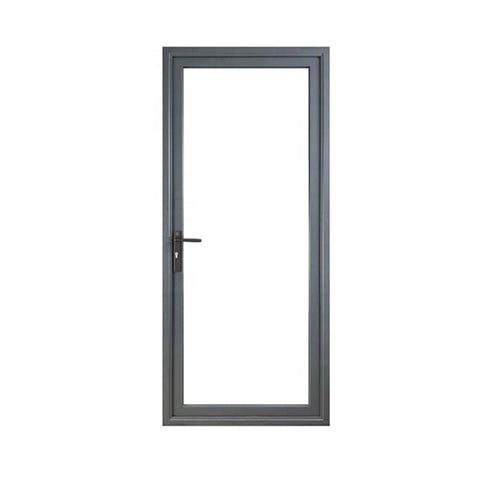 YLJ High Performance Aluminum Hinged Door Double/Single/Laminated Glazing Option on China WDMA