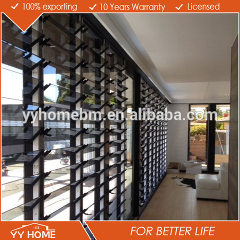 YY Home anti-theft house window louvers / make aluminum window on China WDMA