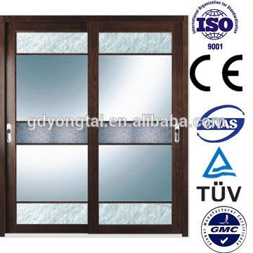 Yatai Aluminum front door designs with options on China WDMA