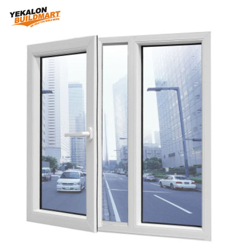 Yekalon Horizontal sliding casement UPVC window on China WDMA
