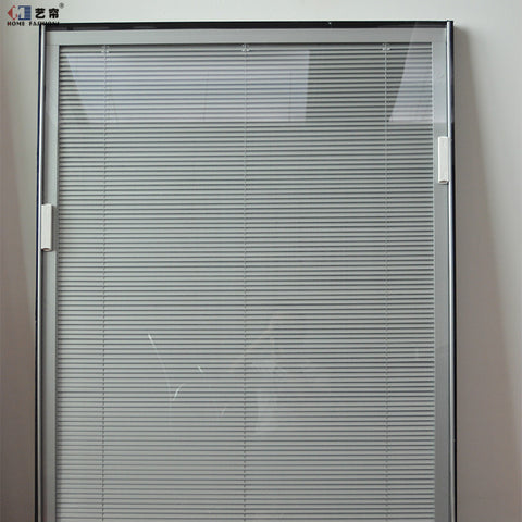 Yilian Aluminum Office Curtains And Blinds With Hollow Glass Inserts Blinds Office Hollow Blinds on China WDMA