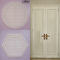 Z frame or L frame PVC Window Plantation Shutters / plantation window shutters on China WDMA
