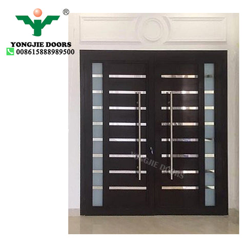 Zhejiang Yongjie Factory french house door metal windows and doors on China WDMA
